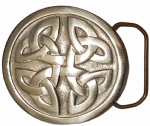 Celtic Knot Belt Buckle + display stand. Code LC5